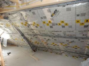 Dachausbau Isolierung Fenster 3